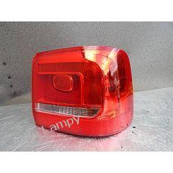 VW TOURAN II PRAWA LAMPA TYŁ Lampy przednie