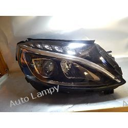 MERCEDES C-KLASA W205 PRAWA LAMPA FULL LED Motoryzacja