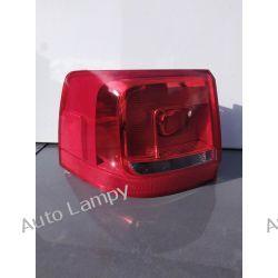 VW SHARAN LEWA LAMPA TYŁ  Z WKŁADEM 2011-14 Motoryzacja