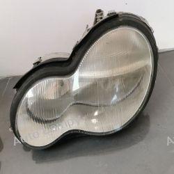 MERCEDES C-KLASA W203 LEWA LAMPA PRZÓD
