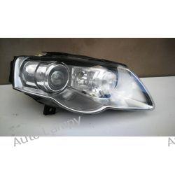 VW PASSAT B6 LIFT PRAWA LAMPA BI-XENON SKRĘTNY