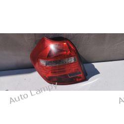 BMW 1 E87 LIFT LEWA LAMPA TYŁ  Motoryzacja