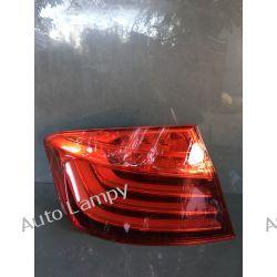 BMW 5 F10 LIFT SEDAN LAMPA LEWA TYŁ Lampy przednie