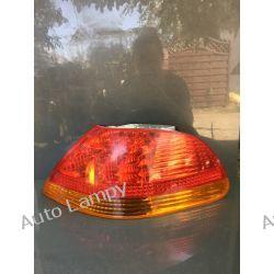 BMW  7 E65 PRAWA LAMPA TYŁ LED ORYGINAŁ KOMPLETNA Lampy przednie