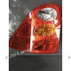 PEUGEOT 1007 PRAWA LAMPA TYŁ Motoryzacja