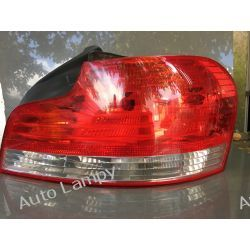 BMW 1 COUPE CABRIO E88 E82 PRAWA LAMPA TYŁ Motoryzacja