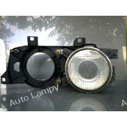 BMW 5 E34 LEWA RAMKA PLUS LAMPA Z SOCZEWKĄ Lampy przednie