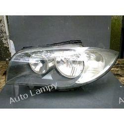 BMW 1 E87 LEWA LAMPA PRZÓD ORYGINAŁ Przetwornice