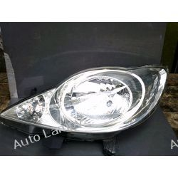 PEUGEOT 107 LEWA LAMPA  PRZÓD ORYGINAŁ Lampy przednie