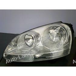 VW GOLF 5 LEWA LAMPA PRZÓD SREBNA ORYGINAŁ Lampy tylne