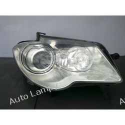 VW TOURAN  PRAWA LAMPA PRZÓD BI-XENON SKRĘTNY Lampy tylne