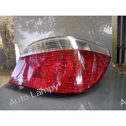 BMW 5 E60 SEDAN PRAWA LAMPA TYŁ Lampy tylne