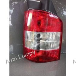 VW TRANSPORTER T5  LEWA LAMPA TYŁ  Lampy tylne