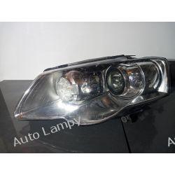 VW PASSAT B6 LEWA LAMPA PRZÓD BI-XENON  SKRĘTNY  Motoryzacja