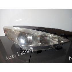 PEUGEOT 207  PRAWA LAMPA PRZÓD ORYGINAŁ Motoryzacja