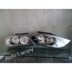 BMW E90 E91 KOMPLET LAMP PRZÓD