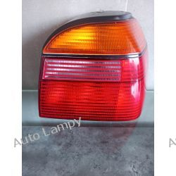 VW GOLF 3  PRAWA LAMPA TYŁ Lampy tylne
