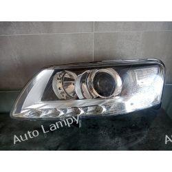 AUDI A6 C6 LIFT LEWA LAMPA PRZÓD BI-XENON NIE SKRĘTNY  Motoryzacja