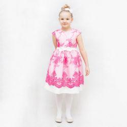 Sukienka Flora - Amarantowa