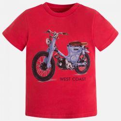 Koszulka z motocyklem Mayoral 3019