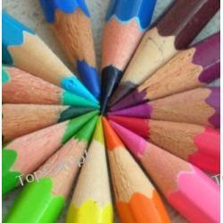 Ołówki drewniane w dowolnym kolorze