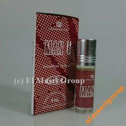 Al-Rehab MEN U Arabskie Perfumy 6ml Attar Emiraty