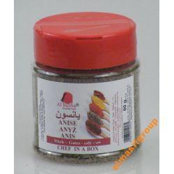 AlBasha Anyż suszony cały Gat1 aromat EGIPT+GRATIS