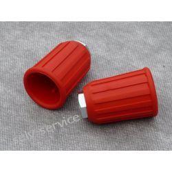 Osłona-mocowanie dyszy guma czerwona 1/4 Pozostałe