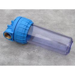 Obudowa filtra wody 10″ – głowica 1″ Mycie ręczne
