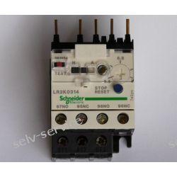 Przekaźnik termiczny nastawny 3-biegunowy Schneider 5,5-8A Pozostałe