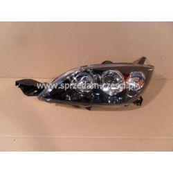 Reflektor lewy Mazda 3 HB 2003-...