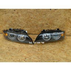 2MH BMW E39 01- komplet reflektorów xenon L i P