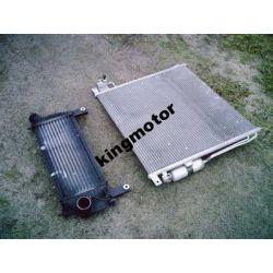Chłodnica klimatyzacji i intercooler Navara 2005-