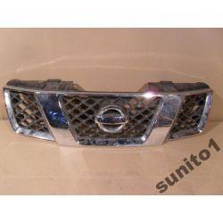 Atrapa przednia chromowa Nissan Navara 2004-
