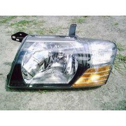 Reflektor lewy Mitsubishi Pajero rok 2001-2004