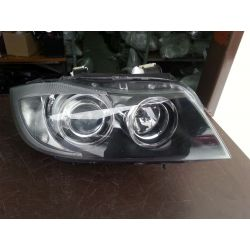 Reflektor prawy xenon skrętny BMW E90 2005-ładny