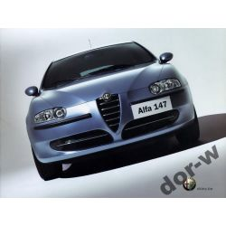 Alfa Romeo 147 Zderzak przedni Nowy Każdy kolor