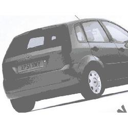 Ford Fiesta MK6 Zderzak TYLNY Nowy Każdy kolor