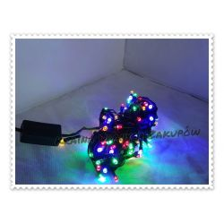Lampki choinkowy świetlny LED zewnętrzne 100 sztuk Torby i walizki