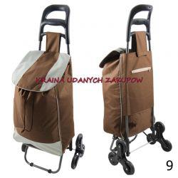 Wózek na zakupy, torba na kółkach,  SCHODOWY Torby i walizki