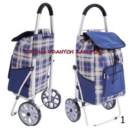 Wózek na Zakupy XL kółkach z łożyskami Aluminiowy Galanteria i dodatki