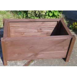 Donica 80 x 40 x 35 drewniana od producenta