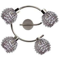 RAVEN LAMPA SUFITOWA PLAFON  4xSPOT/LED CHROM