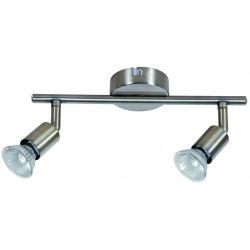 GWINEA LAMPA SUFITOWA PLAFON 2x 5W LED PATYNA