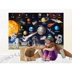Naklejka kosmos, układ słoneczny Pokój dziecięcy