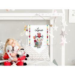 Proporczyk, obrazek do pokoju dziecka z imieniem Obrazki