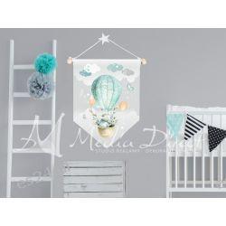 Proporczyk, obrazek, plakat do pokoju dziecka, króliczek Pokój dziecięcy