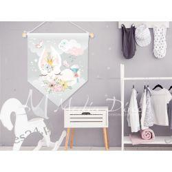Proporczyk, obrazek, plakat do pokoju dziecka, króliczek Obrazki