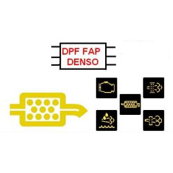 Emulator,DPF ,FAP ,Toyota, Lexus ,DENSO ,2.0 i 2.2