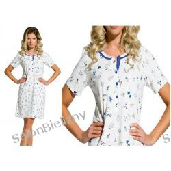 058* TARO koszula nocna FABIA 2170 kr.ręk L Majtki